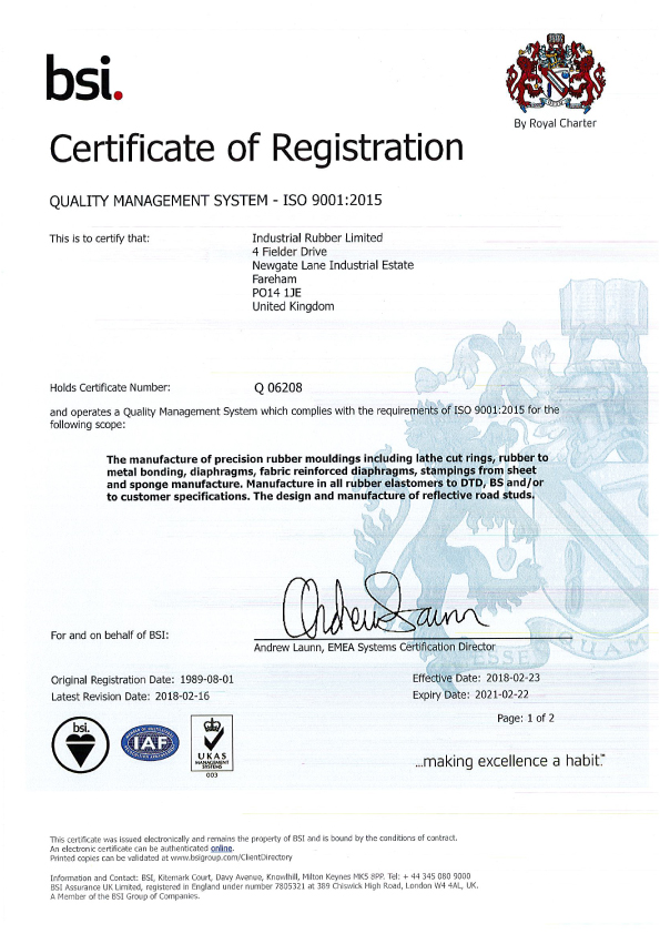Certificate Updated Version